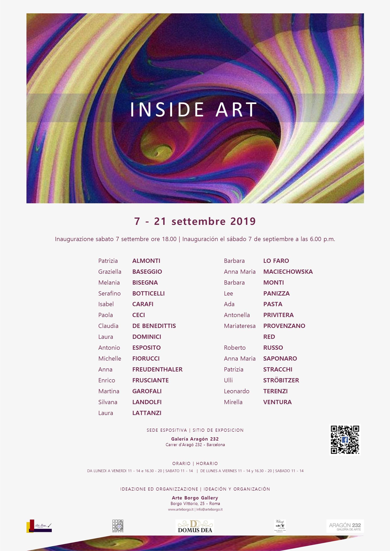 Mostra a Barcellona dal 7 al 21 sett
