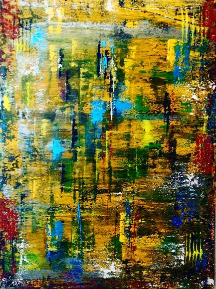 Abstract yellow II