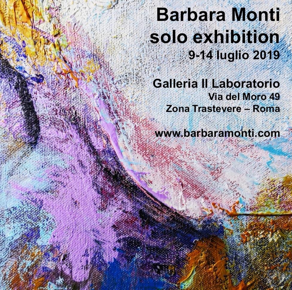 Mostra personale di Barbara Monti