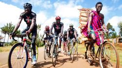 Masaai on a Bike
