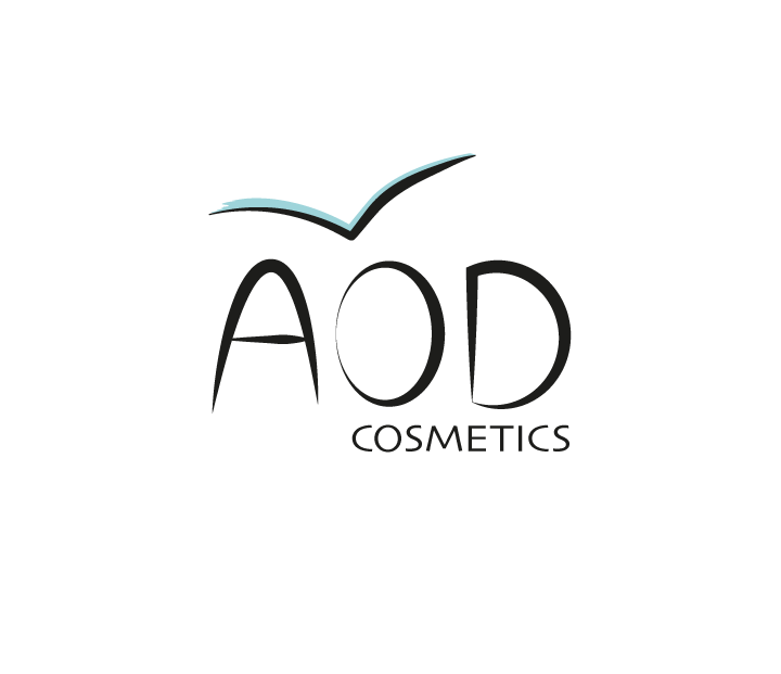 AOD לוגו לחברת קוסמטיקה