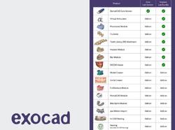 תוכנת אקסוקאד + 7 מודלים
