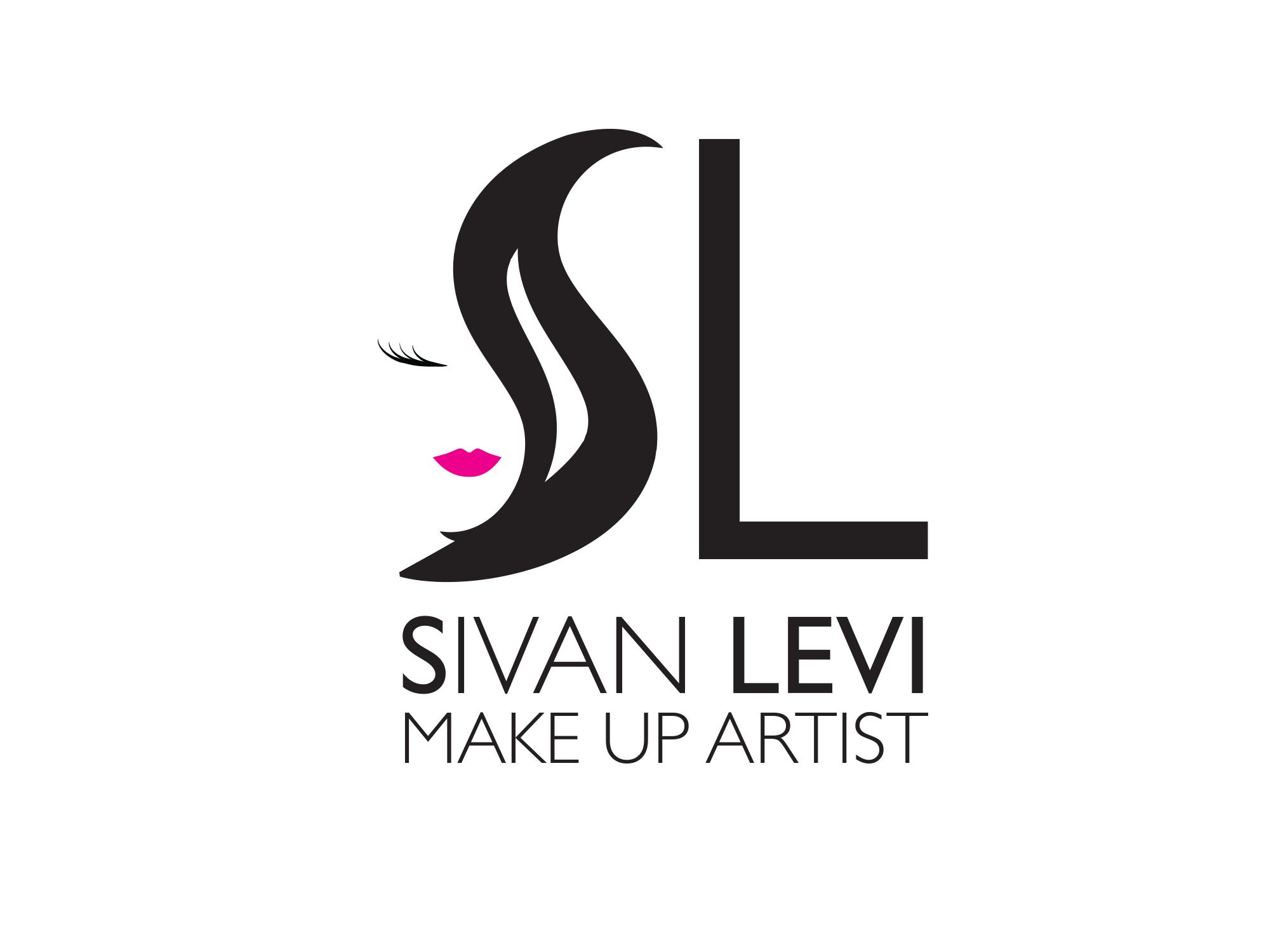 לוגו לאמנית איפור