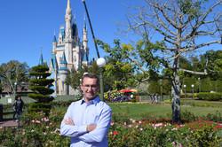 Alexandre Espindola na  Disney