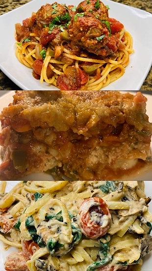 Pasta Trio Pop Up (Friday-October 29th)