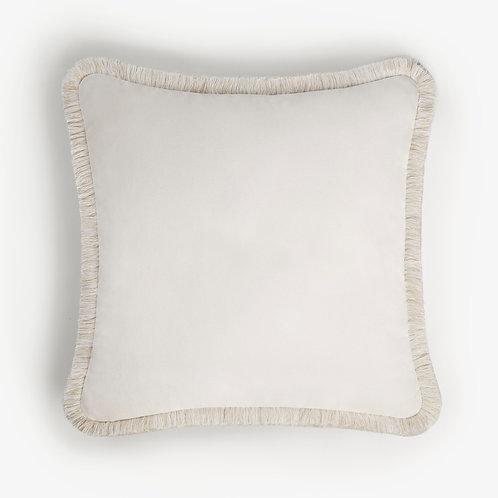 Happy Pillow | White
