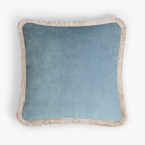 Happy Pillow | Light blue