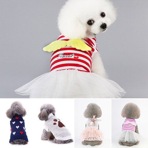 Mitscoo Pet Clothing pack 12 assorted