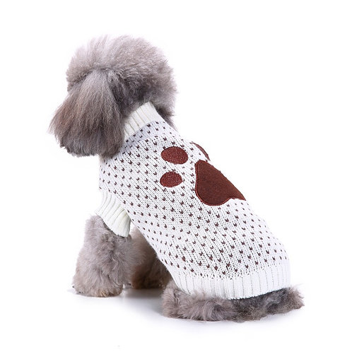 Mitscoo Pet Paw sweater