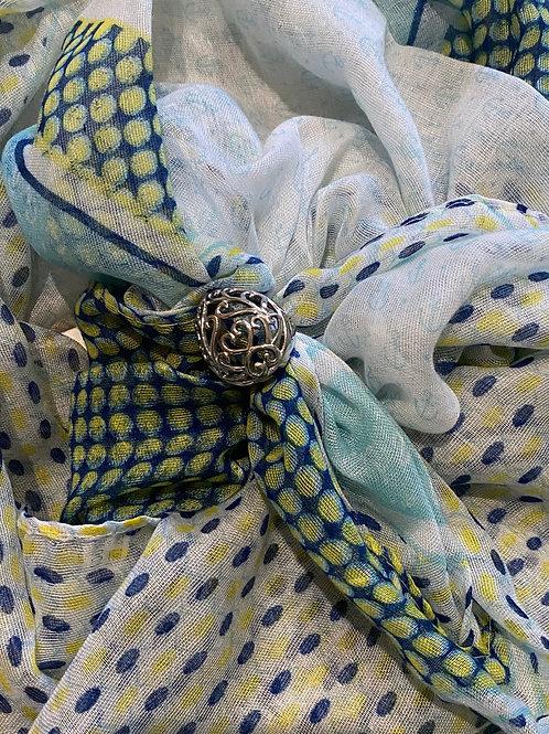 Filagree ring scarf bling box (choose scarf)