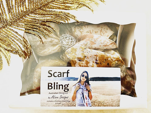 Filagree ring scarf bling box (choose scarf)