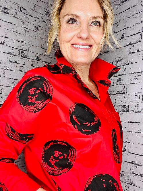 Artist red Circle shirt