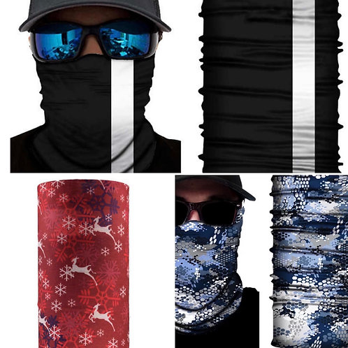 Unisex face Gaitor face covering