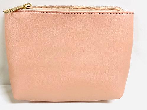 Pink zip pouch