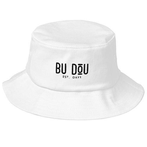 BU DOU Old School Bucket Hat
