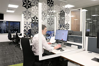 social distancing screens for offices
