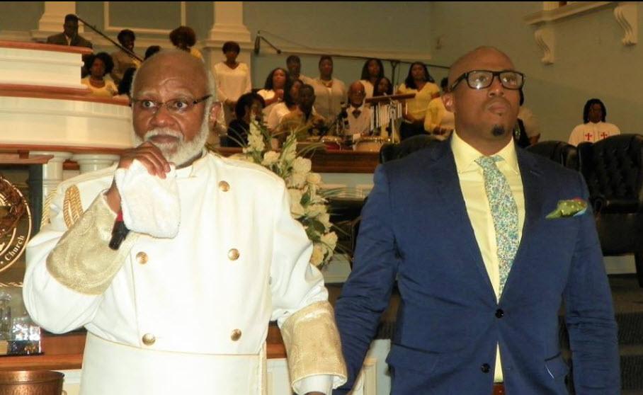 Papa & Anthony Brown