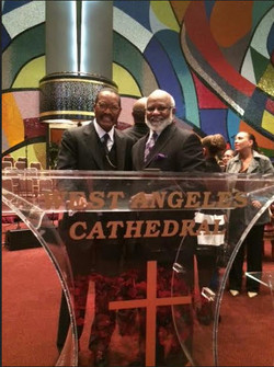 Papa Sheals at West Angeles COGIC