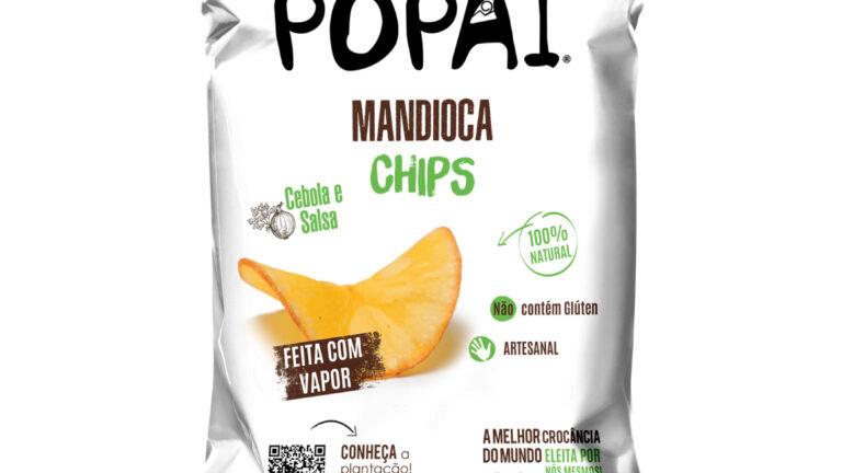Chips de Mandioca Orgânica sabor Cebola e Salsa 30g