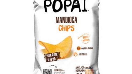 Chips de Mandioca Orgânica 30g