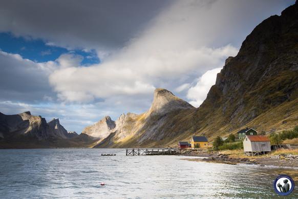Fahrt nach Kirkefjord