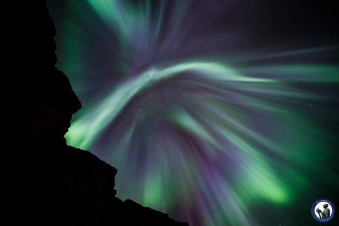 Corona Aurora auf den Lofoten
