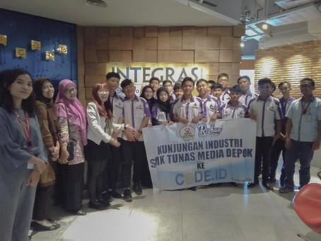 Kunjungan Industri SMK Tunas Media Depok