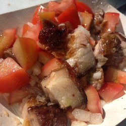 Instagram - LECHON-Tomato's- dice Onion #mondayblues @islandwarrior88 your favor