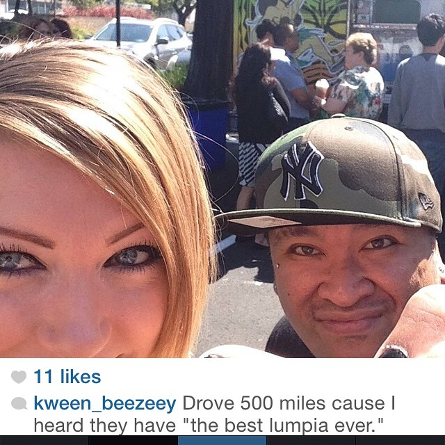 Instagram - We would like to thank @kween_beezeey for making a pit stop for lunc