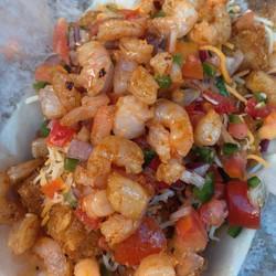 Instagram - #DaSituation #spicygarlicshrimp #tatortots get yours at 1275 De Anza