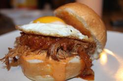 Kalua Pork Slider with Bacon Jam