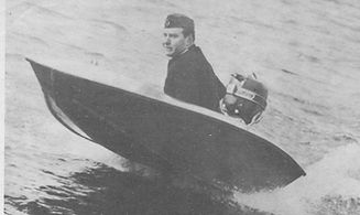 Åke Sundstedt - 25knop med en Mercury 10 hk