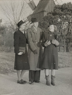 Julmarknad på Skansen 1943