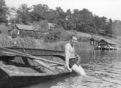 Dopp i badviken 1942