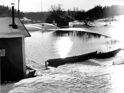 Badviken i Boo 1942