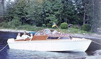 Familjen Fjordensjös TfA:s kabinbåt