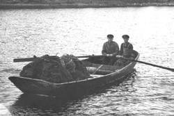 Bröderna Evald (Åkes far) och Edvin