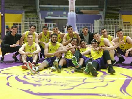 קבוצת הנוער מחוזית  מנצחת את רמלה בשתי נקודות במשחק העונה
