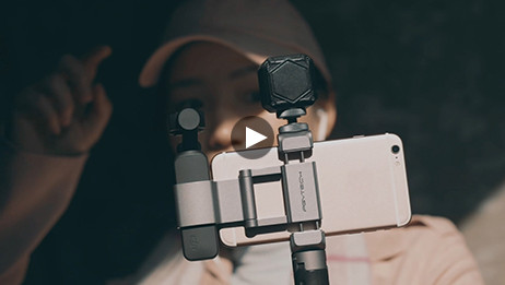 Holder and Expansion Set for the DJI OSMO Pocket