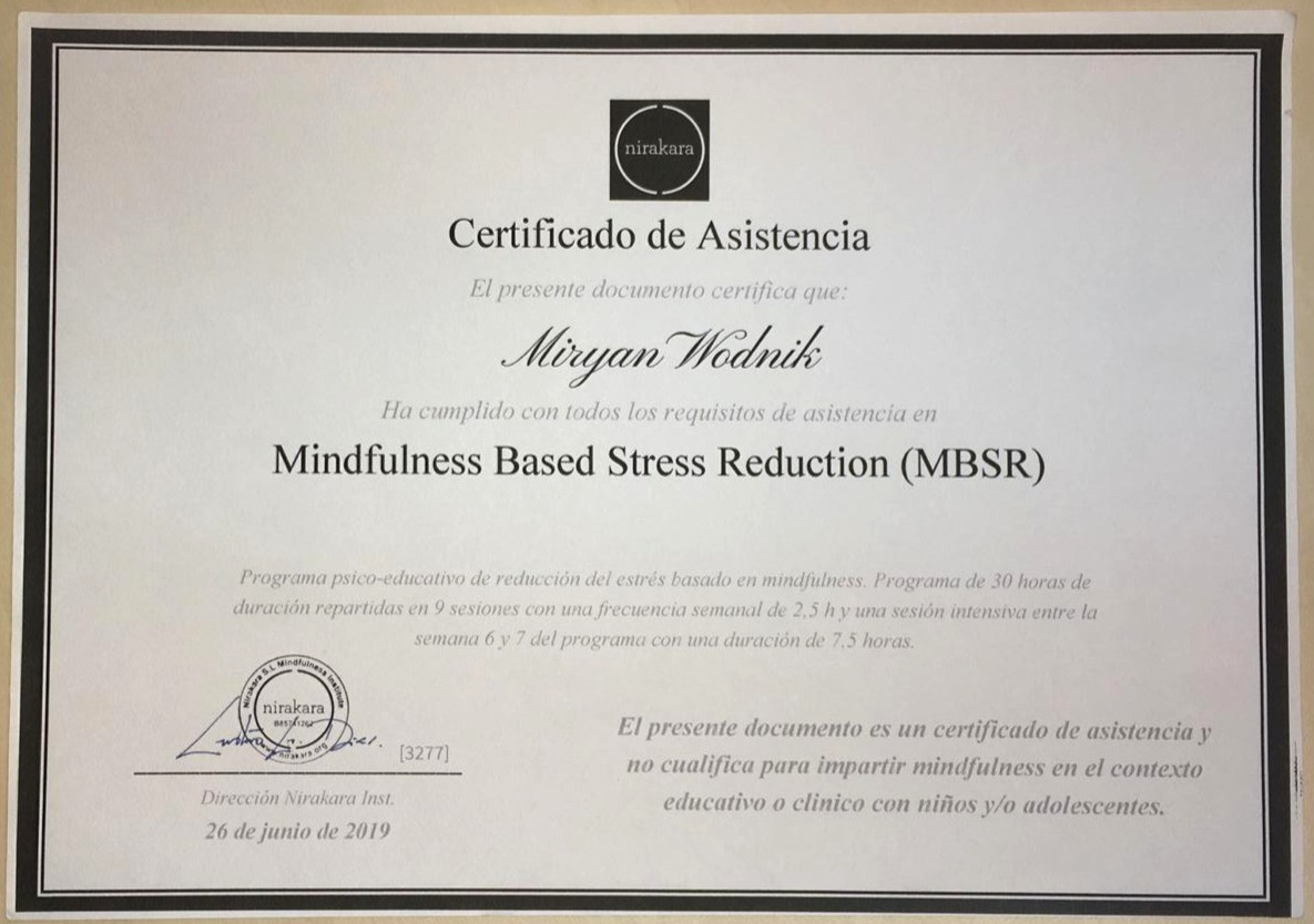 MBSR Diploma