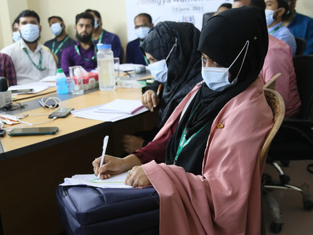 Caring for refugee mental health through virtual training for healthcare workers