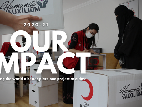 2020-21 Impact Report: Humanity Auxilium is having a large impact as a small organization