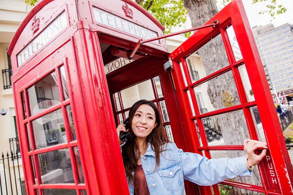 London Telephone Booth