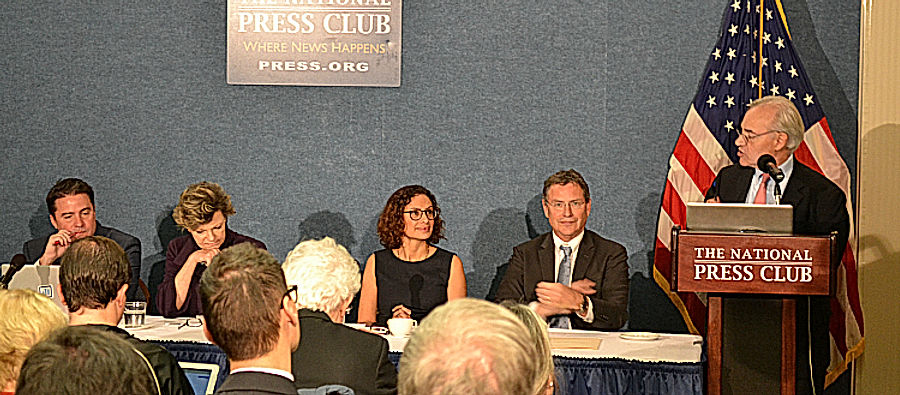 IPR panel discusses Catholic voters and the 2016 election at the National Press Club.