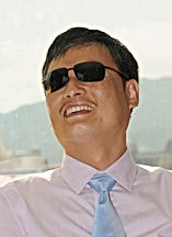 Photograph of IPR Fellow and Chinese dissisent Chen Guangcheng.