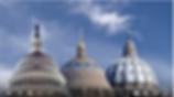 image of three domes symbolizing church, nation & world.