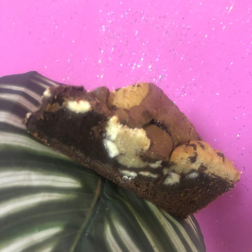 Caramel Cookie Brownie