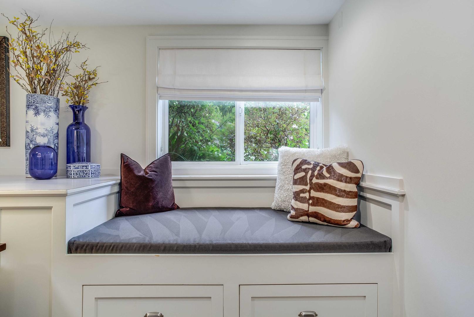 Main Bedroom Window Seat