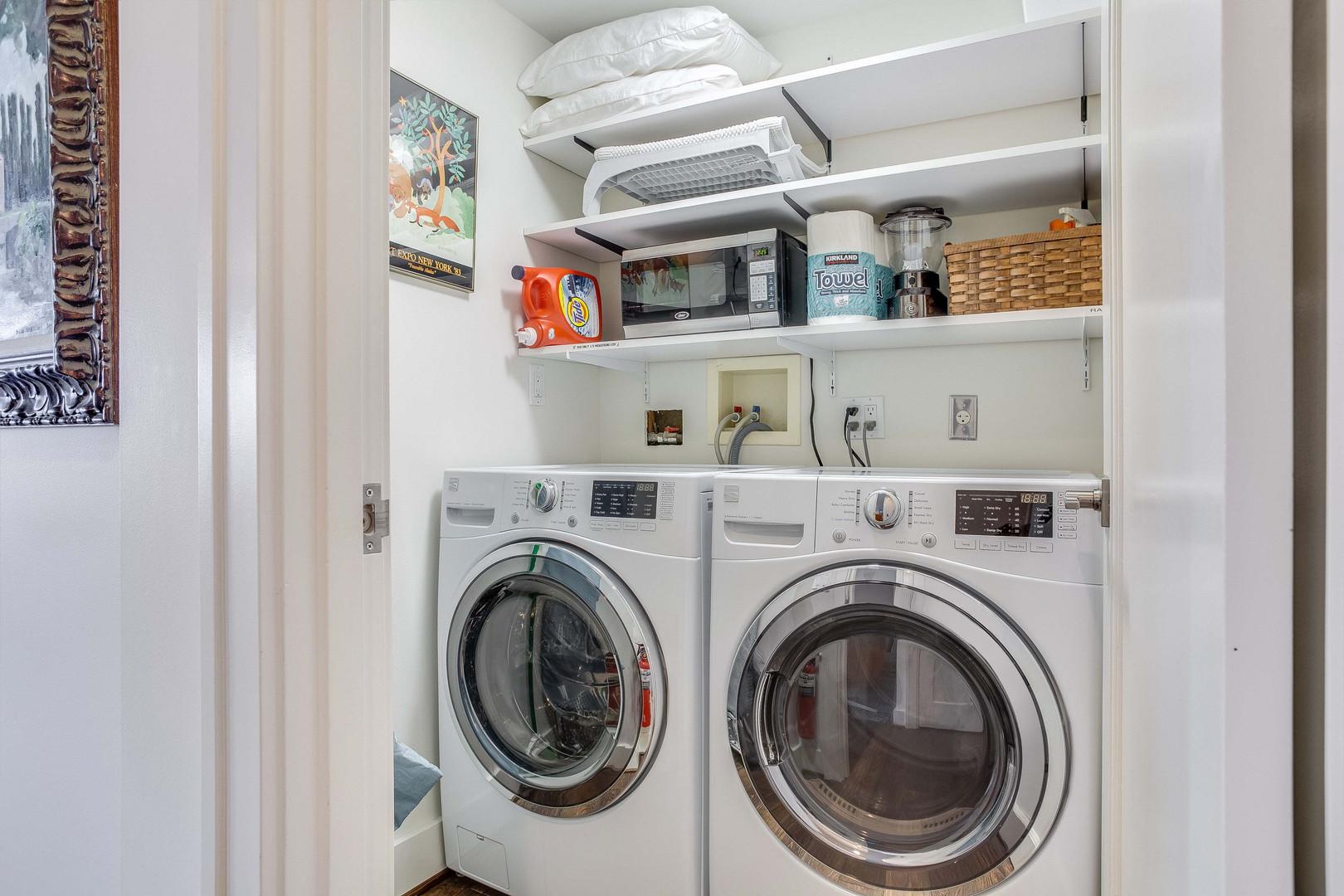 Full Sized Washer & Dryer
