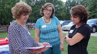 Martha Ann Stallings, Lynn Everett, Dialogue on Race, Summer Summit, Gunin Karin